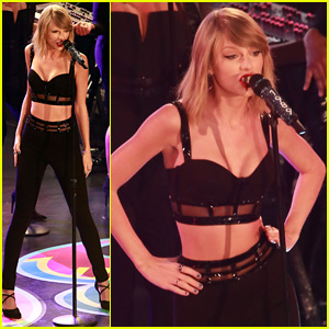 Taylor Swift Performs 'Out of the Woods' Live for First Time on 'Jimmy Kimmel Live' - Watch Now!