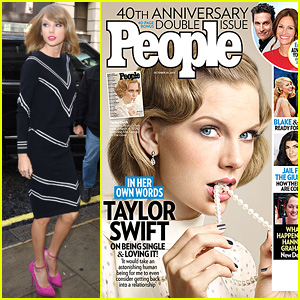 Taylor Swift Covers 'People' Mag, Opens Up About Single Life