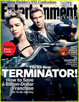 Emilia Clarke & Jai Courtney Give Us a 1st Look at 'Terminator: Genisys'