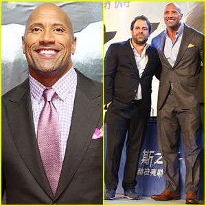 Dwayne 'The Rock' Johnson Is Honored to Be Premiering 'Hercules' in China