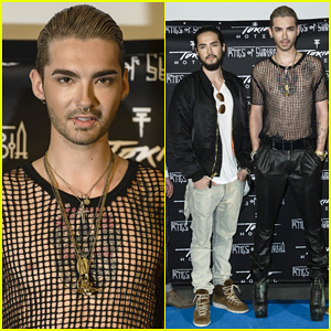 Tokio Hotel Celebrate 'Kings Of Suburbia' Release at Berlin Press Conference & Photo Call!