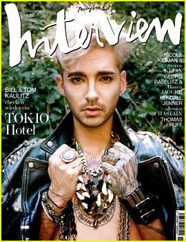 Tokio Hotel's Bill Kaulitz Rocks Leather for 'Interview Germany'