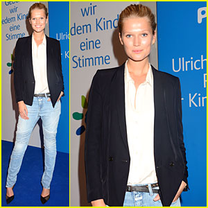 Toni Garrn Supports Children's Rights at Ulrich Wickert Award