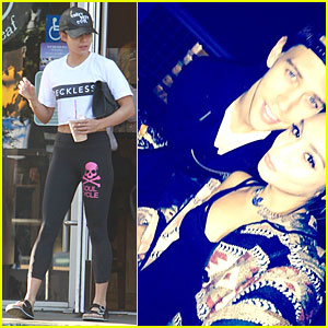 Vanessa Hudgens Cozies Up To Boyfriend Austin Butler at Sam Smith Concert