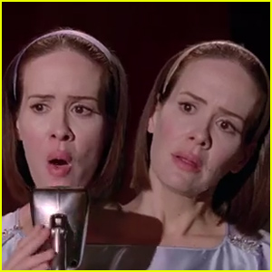Sarah Paulson Sings 'Criminal' on 'American Horror Story: Freak Show' - Watch Now!