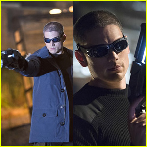 Wentworth Miller Looks Badass as Captain Cold - See the First 'Flash' Pics Here!