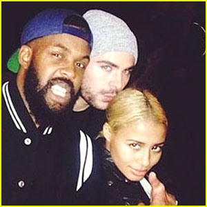 Zac Efron Kisses Girlfriend Sami Miro's Head in New Photo!