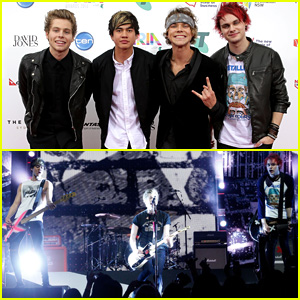 5 Seconds of Summer Rock Home Country of Australia at ARIA Awards 2014 - Watch Now!