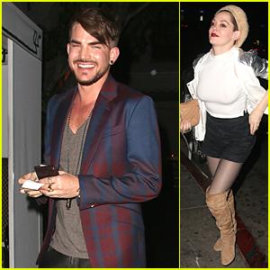 Adam Lambert Isn't Throwing Shade at Pop Stars Attracting Gay Fans