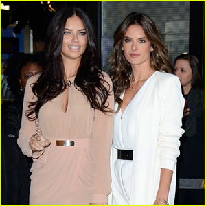 Adriana Lima & Alessandra Ambrosio Model Victoria's Secret Fantasy Bra - See the Photos!