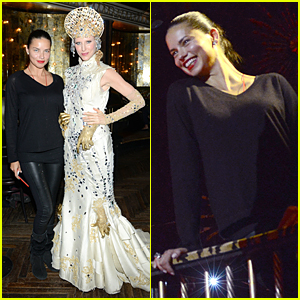 Adriana Lima is the 'Queen of the Night' in NYC!