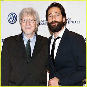 Adrien Brody Brings His Dad Along to Celebrate the Fall of the Berlin Wall
