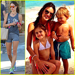 Alessandra Ambrosio Does the Unthinkable Gym Workout on Thanksgiving