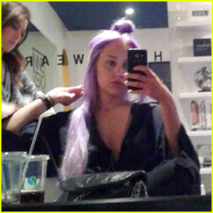 Amanda Bynes Dyes Her Hair Purple, Shares Photo of New Look