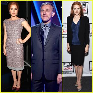 Amy Adams & Christoph Waltz Have 'Big Eyes' at Hollywood Film Awards 2014