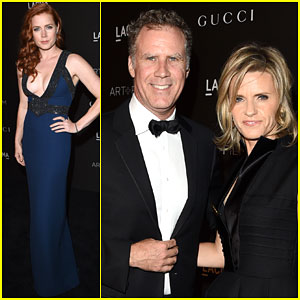 Amy Adams & Will Ferrell Get All Dressed Up for the LACMA Art + Film Gala