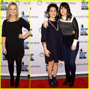 Amy Poehler Joins 'Broad City' Girls Ilana Glazer & Abbi Jacobson at Paley Panel!