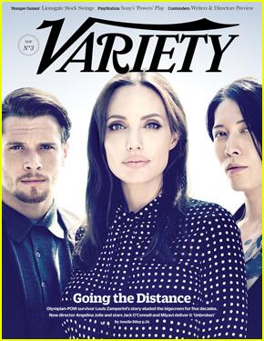 Angelina Jolie Takes the Spotlight on 'Variety' Cover