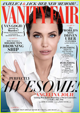 Angelina Jolie Opens Up on Married Life with Brad Pitt in 'Vanity Fair'