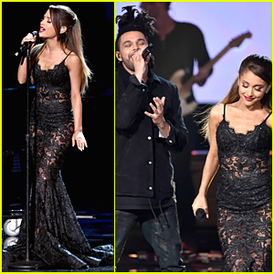 Ariana Grande Wants Us to Love Her Harder at AMAs 2014 - Watch Now!