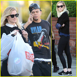 Ashlee Simpson & Evan Ross Get Some Major Shopping Done Before Thanksgiving