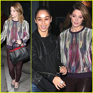 Ashley Greene & Cara Santana Have Fun Girls' Night Before Thanksgiving
