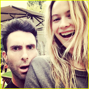 Behati Prinsloo Is Thankful For Husband Adam Levine on Thanksgiving!
