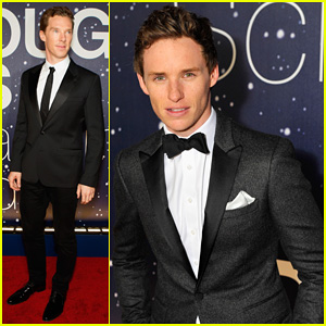 Benedict Cumberbatch & Eddie Redmayne Suit Up for the Breakthrough Prize Awards Ceremony 2014!
