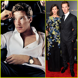 Benedict Cumberbatch & Fiancee Sophie Hunter Make Their Red Carpet Debut!