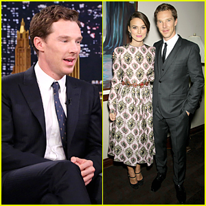 Benedict Cumberbatch Tells Three-Word Stories on 'Tonight Show' - Watch Now!