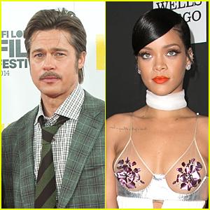 Brad Pitt Will Introduce Rihanna Before Diamond Ball Performance