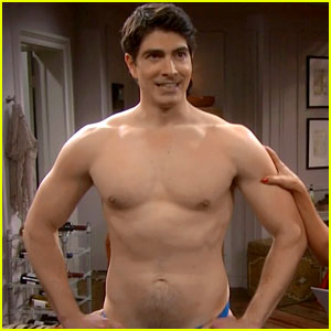 Brandon Routh Goes Shirtless In Tonight S The Exes
