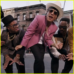 Bruno Mars Brings the Groove, Goes Totally Retro in Mark Ronson's 'Uptown Funk' Video - Watch Now!