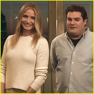 Cameron Diaz Talks Bobby Moynihan Romance in 'Saturday Night Live' Promo - Watch Now!