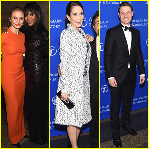 Cameron Diaz, Tina Fey & Ben McKenzie Show Their Support at the Museum Gala 2014