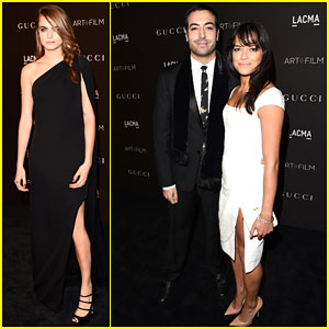 Cara Delevingne & Michelle Rodriguez Both Attend the LACMA Art + Film Gala