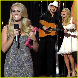 Carrie Underwood & Brad Paisley Spoof Ebola with 'Quarantine' Song at CMA Awards 2014 (Video)