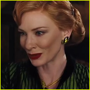 Cate Blanchett Gives Us Chills as the Evil Stepmother in 'Cinderella' Trailer - Watch Now!
