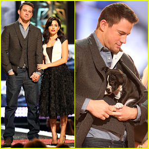 Channing Tatum Cradles a Rescue Puppy & It's Making Us Melt!