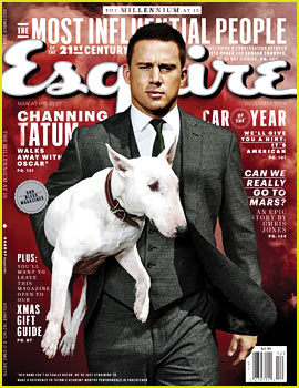 Channing Tatum Suits Up for 'Esquire' & Talks Naked Dance Rehearsals for 'Magic Mike XXL'