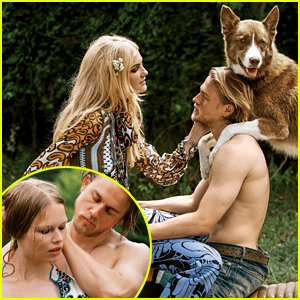 Charlie Hunnam Goes Shirtless For Steamy 'Vogue' Photo Shoot
