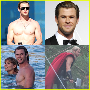 Chris Hemsworth Named Sexiest Man Alive - Here's a Gallery Of His Sexiest Pics Ever!
