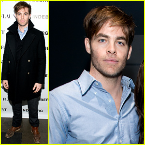 Chris Pine Is Sleek In a Pea Coat to Celebrate 'Flaunt' Cover!