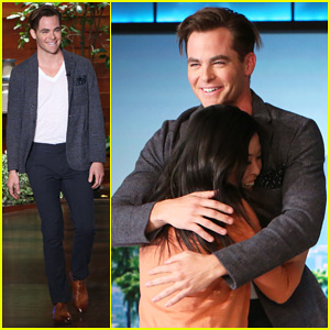 Chris Pine Serenades A Fan By Singing Frank Sinatra's 'Summer Wind' on 'Ellen' - Watch Now!