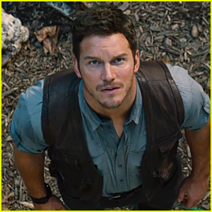 Chris Pratt Looks Worried Over New Dinosaurs in 'Jurassic World' Trailer - Watch Now!