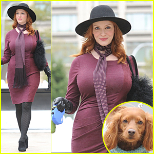 Christina Hendricks Becomes a Servant in 'Another Period'