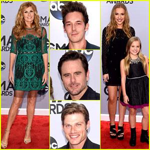 Connie Britton & 'Nashville' Cast Attend the CMA Awards 2014