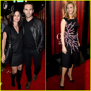 Courteney Cox Supports 'Friends' Co-Star Lisa Kudrow at 'Comeback' Premiere!