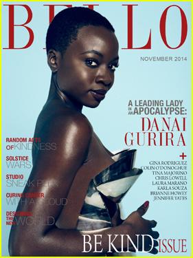 Danai Gurira Gets Flashy For 'Bello' Magazine November 2014 Cover