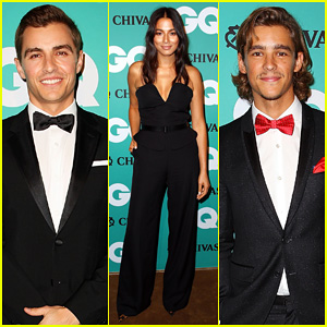 Dave Franco & Brenton Thwaites Suit Up for the GQ Men Of The Year Awards 2014!